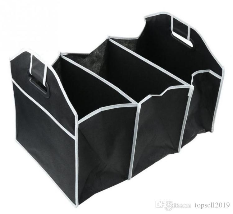 Tissé Pliable Jouet Voiture Conteneur Sac Organisateur Tissu Rangement Boîte Portable De Alimentaire Non Tronc c3lKTJF1