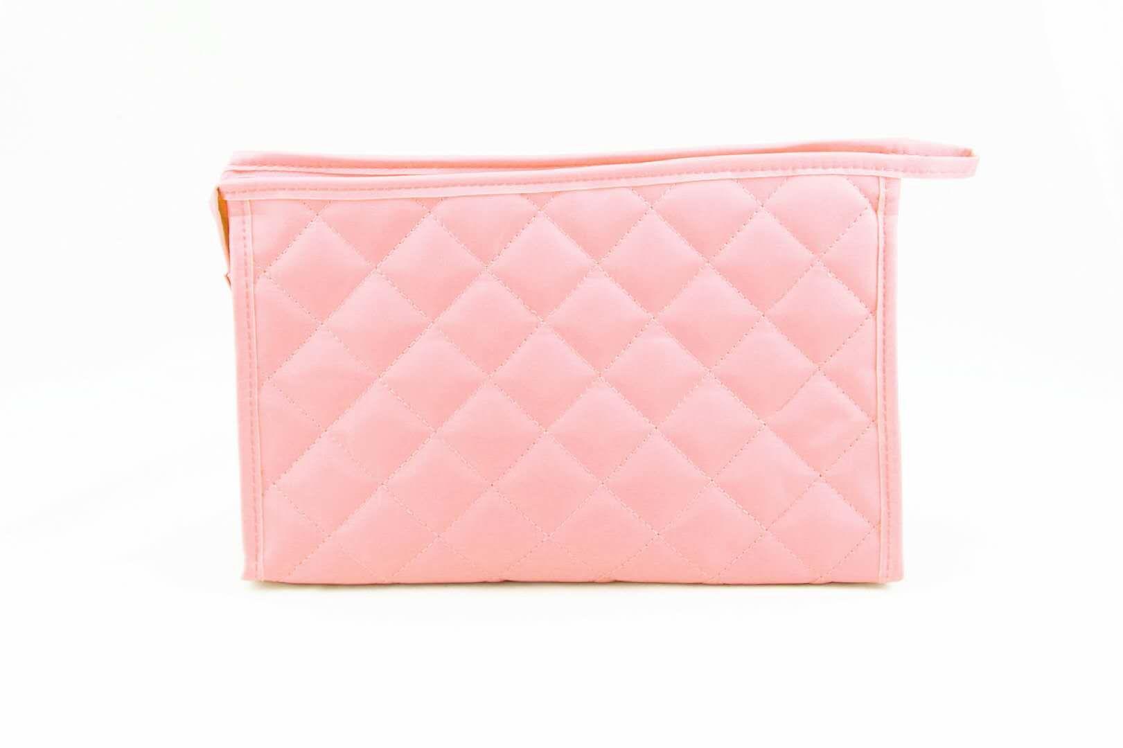 solid color Nylon women cosmetic bag, women travel bag, girls makeup bag, Lady handbag EAD-511