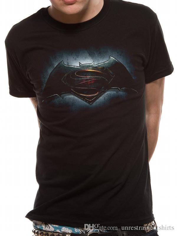 ae85828594 Großhandel Batman Gegen Superman Logo T Shirt Von Unrestrainedtshirts,  $13.06 Auf De.Dhgate.Com   Dhgate