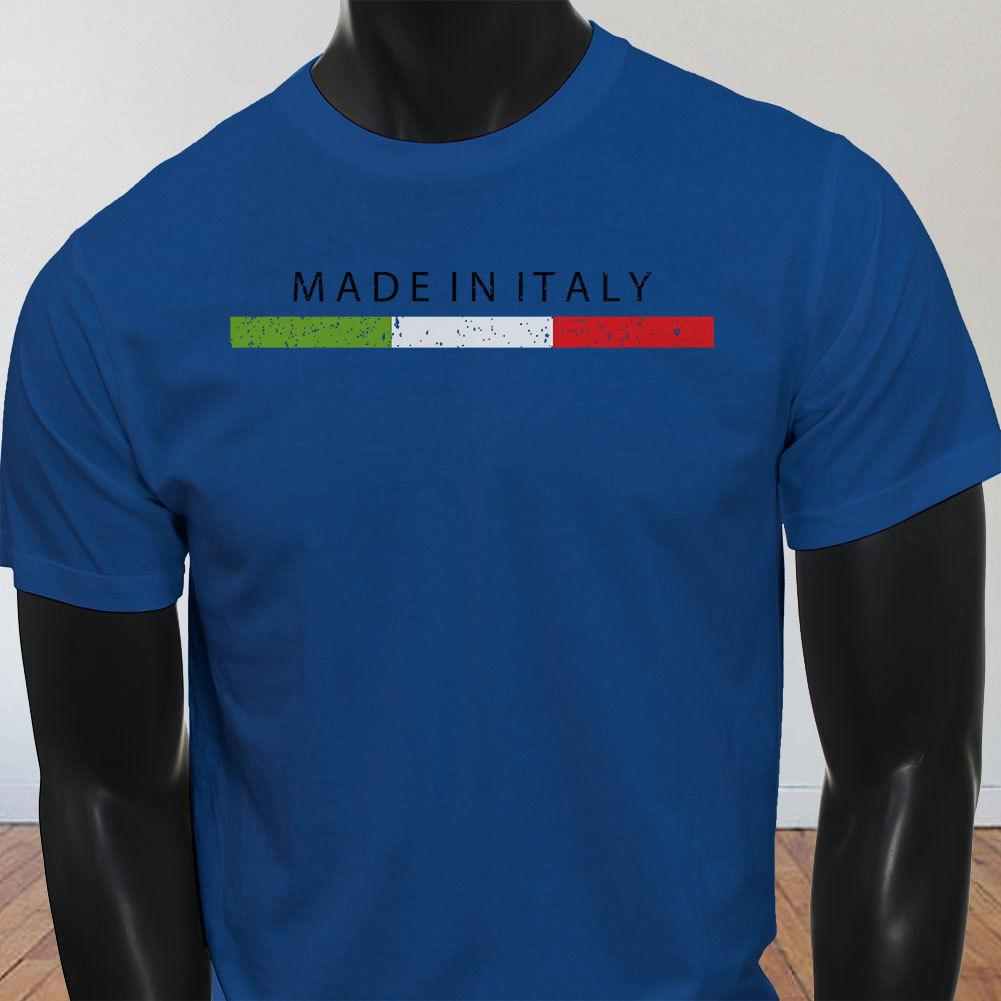 28c7091171d MADE IN ITALY ITALIAN PRIDE FLAG FUNNY SOCCER Mens Blue T Shirt Funny  Unisex Casual Gift Cotton Shirts White T Shirts From Free will shirts