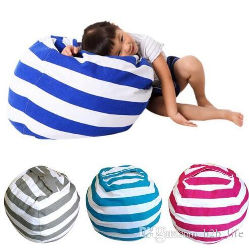 Bean Bag Chair Portable Couch Cushions Plush Toys Storage Bean Bags  Organizer Kids Bedroom Playing Mat Clothes Storage Tool Kka4078 Satchel Bags  For Girls ...
