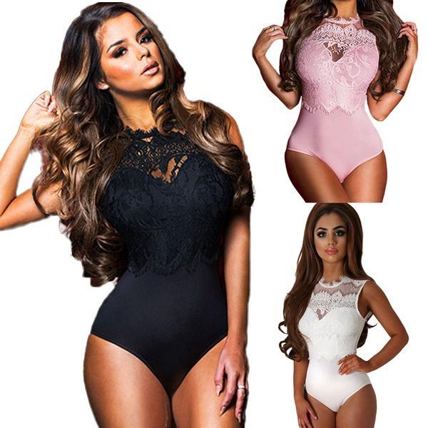0b738171ec 2019 Comeondear M 3XL New SEXY Lingerie Lace Dress Babydoll Women S  Underwear Nightwear Sleepwear Bodysuit R80472Black