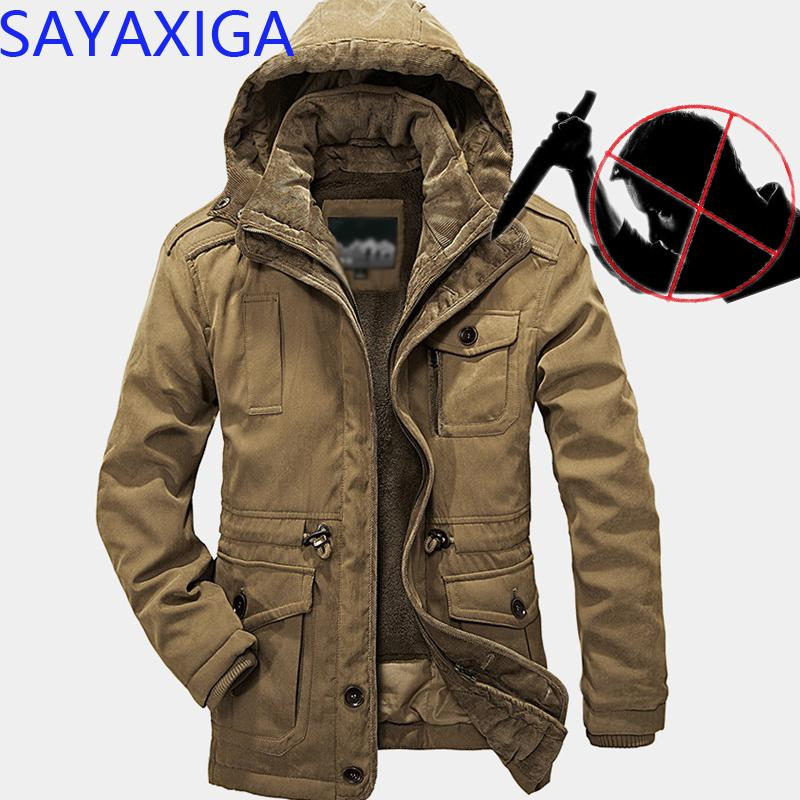 Jackets Nice New Self Defense Tactical Anti Cut Knife Cut Resistant Hooded Jacket Anti Stab Proof Long Sleeved Military Security Jacket Coat