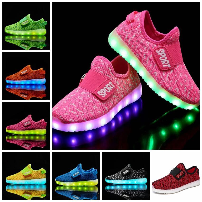 Led On Bambini Slip Traspiranti Usb Sneakers Acquista BFEU7qxw