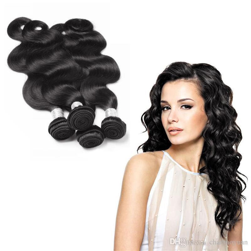 Top Selling Hair Brazilian Body Wave 100 Virgin 8 30inch Human Hair