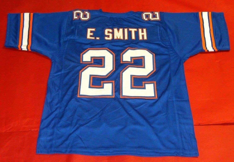 huge selection of 3f810 78b6b Cheap retro #22 EMMITT SMITH CUSTOM FLORIDA GATORS JERSEY Mens Stitching  top High end Size S-5XL Football jerseys