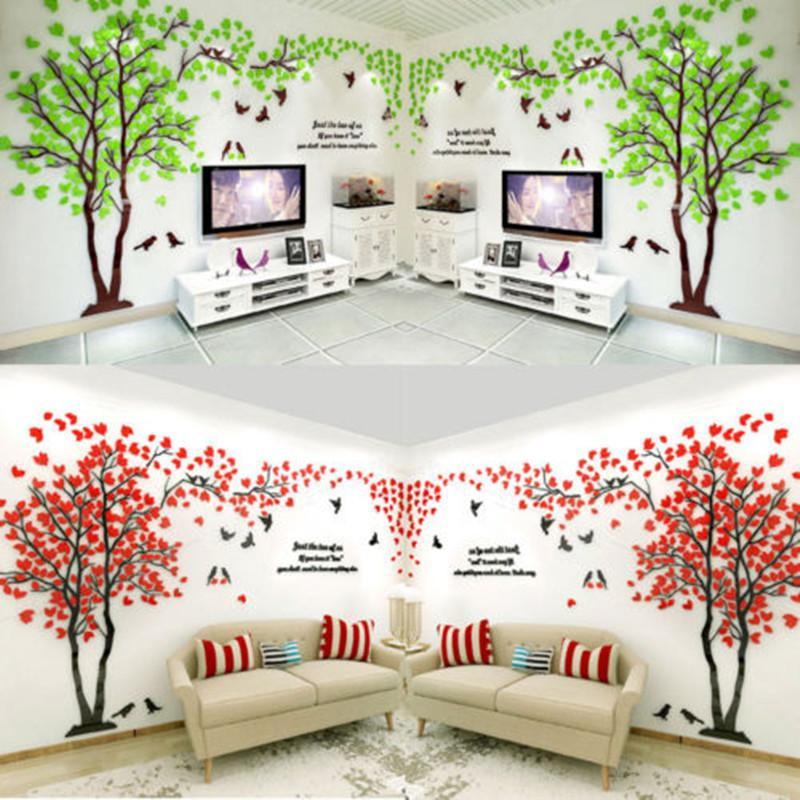 new tree 3d wall art sticker vinyl decal fashion luxury home room