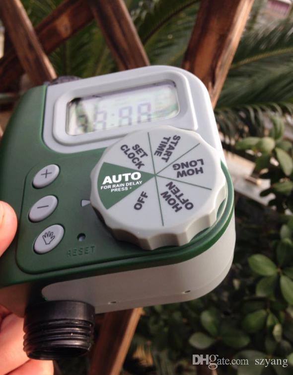 Garden Digital Water Timer Single Valve Hose Irrigation Watering Timer Single Outlet Faucet Hose Bib Timer