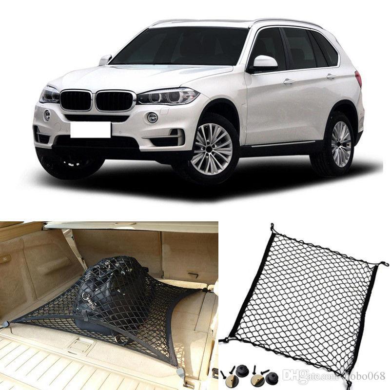 For Bmw X5 X5m Auto Rear Trunk Cargo Organizer Storage Net Luggage