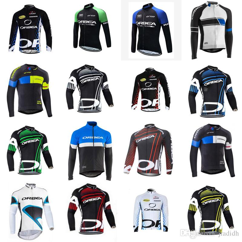 ORBEA Team Cycling Long Sleeves Jersey Hot Sale Style 2018 Summer ... b9289c62e