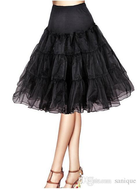 Puffy Petticoats Mini Short Length Custom Made Ruffles Tulle Colorful Petticoat 2018 Tutu Skirts Underskirt For Dresses