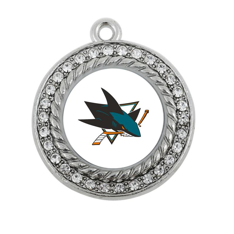 fa0e09e0f San Jose Sharks CHARM ANTIQUE SILVER PLATED JEWELRY San Jose Sharks Online  with $67.07/Piece on Xll424's Store   DHgate.com