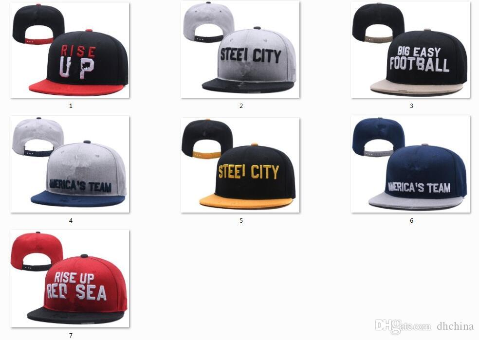 2019 New Caps College Football Snapback Hats 2018 Draft Cap Team Hats Mix  Match Order All Caps In Stock Top Quality Hat Wholesale From Dhchina ab8c46c5303