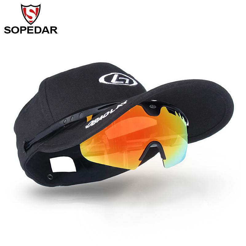 24bd258d93 SOPEDAR Cycling Cap With Sunglasses Anti-UV Glasses MTB Goggles Riding Bike  Eyewear Bicycle Caps Sunglasses Accessories 130g Cycling Eyewear Cheap  Cycling ...