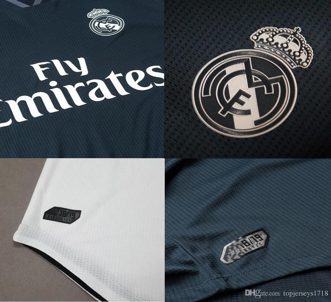 ... Jersey 18 19 Ronaldo Bale Asensio Sergio Ramos Ventas Camiseta De  Fútbol Uniformes Jerseys Reuben Foster Jersey Por Topjerseys1718 7e56514c38ef2