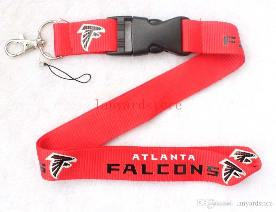 The glamour of Red Neck Strap Lanyard with Silver Metal Clip Lanyard key chain Refueling for Rugby custom LOGO