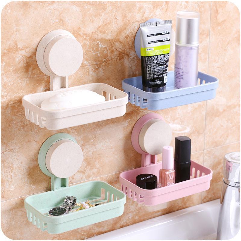 Grosshandel Badezimmer Sauger Seifen Kasten Regal Badezimmer Seifen