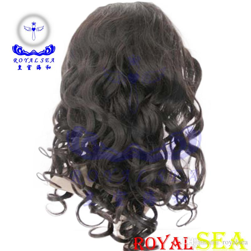 12-26 Inch Natural Color 100% Human Hair Machine Made Wig Natural Wave Brazlian Hair Wigs For Women