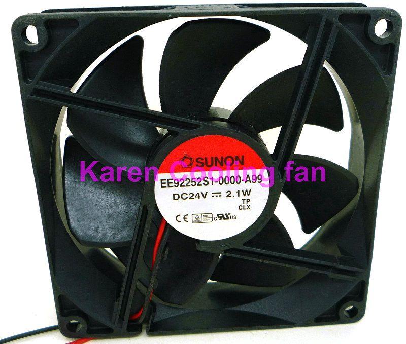 Sunon KDE1209PTB1 EE92252S1-0000-A99 DC24V 2.1W 9cm Inverterkylfläkt EE92251S3-D020-C99