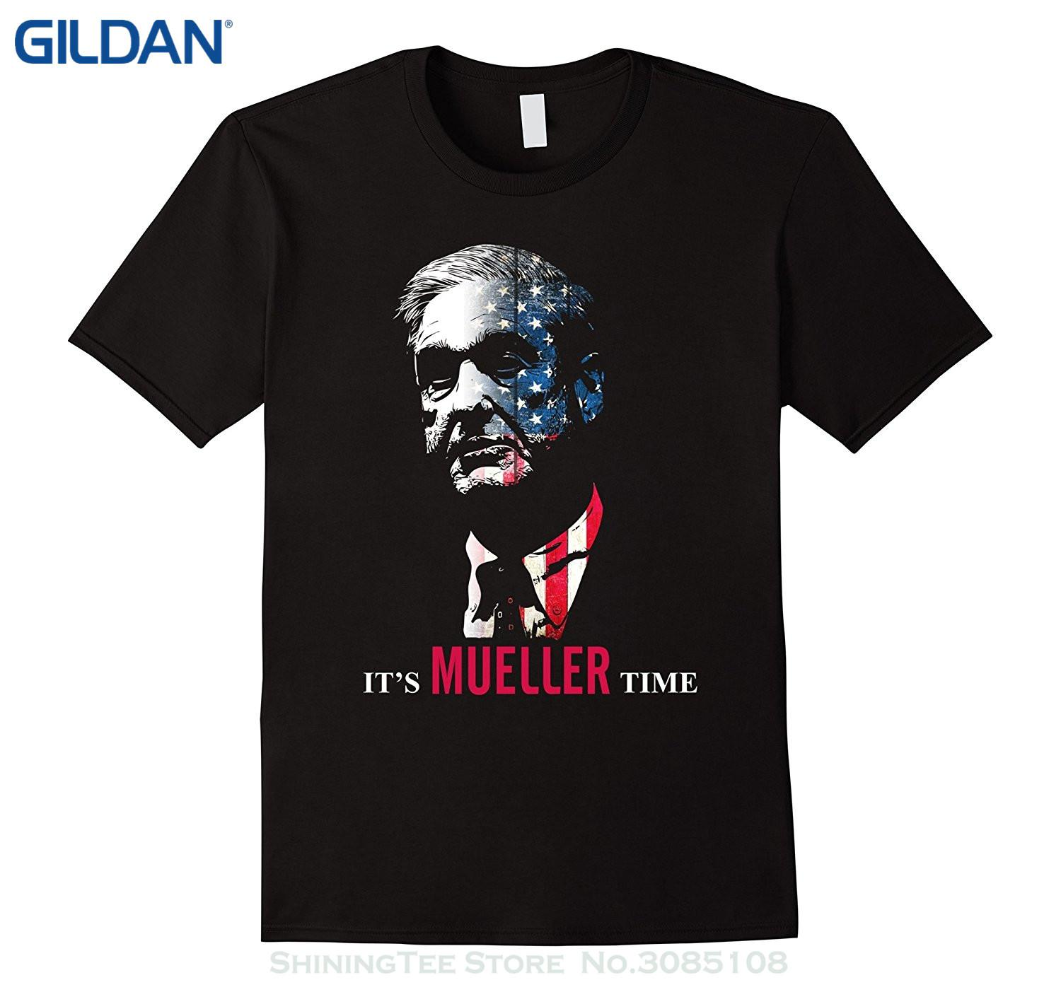 627ec30ebb9 Wholesale Discount Top Quality T Shirts Men O Neck It S Robert Mueller Time  Resist Anti Trump Shirt Cool T Shirts For Boys Online Cool Team Shirts From  ...