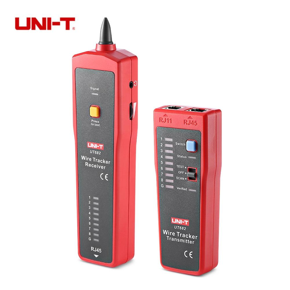 Uni T Multifunctional Wire Tracker Line Finder Cable Tester Short Open Auto Circuit Detector Car Wiretracker Repair Tool Finders Telephone Tracking Function Ut682 Digital