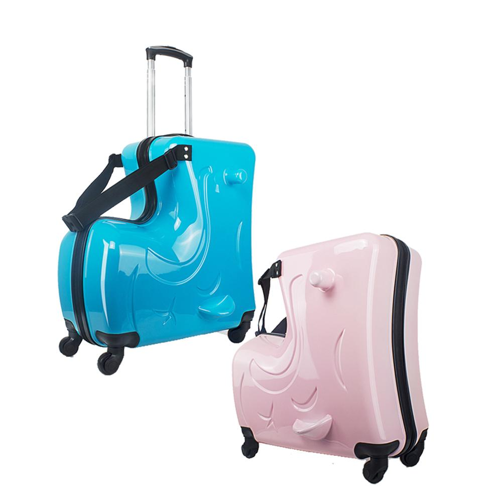 214101ad0d27 Cute Cartoon Children Rolling Luggage Spinner Suitcase Wheels ...