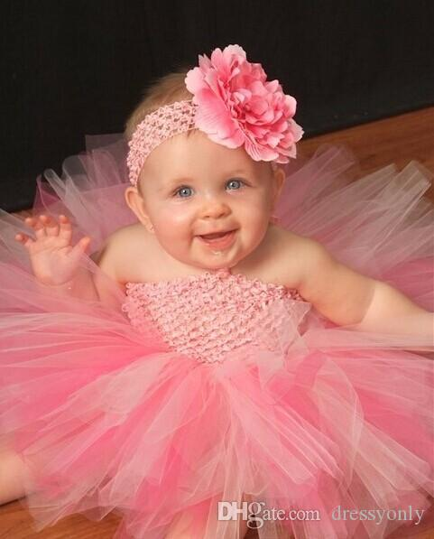 Baby Girls Dresses Short Tutu Skirts Cute 2018 New Arrivals Party Prom Birthday Dresses Asymmetrical