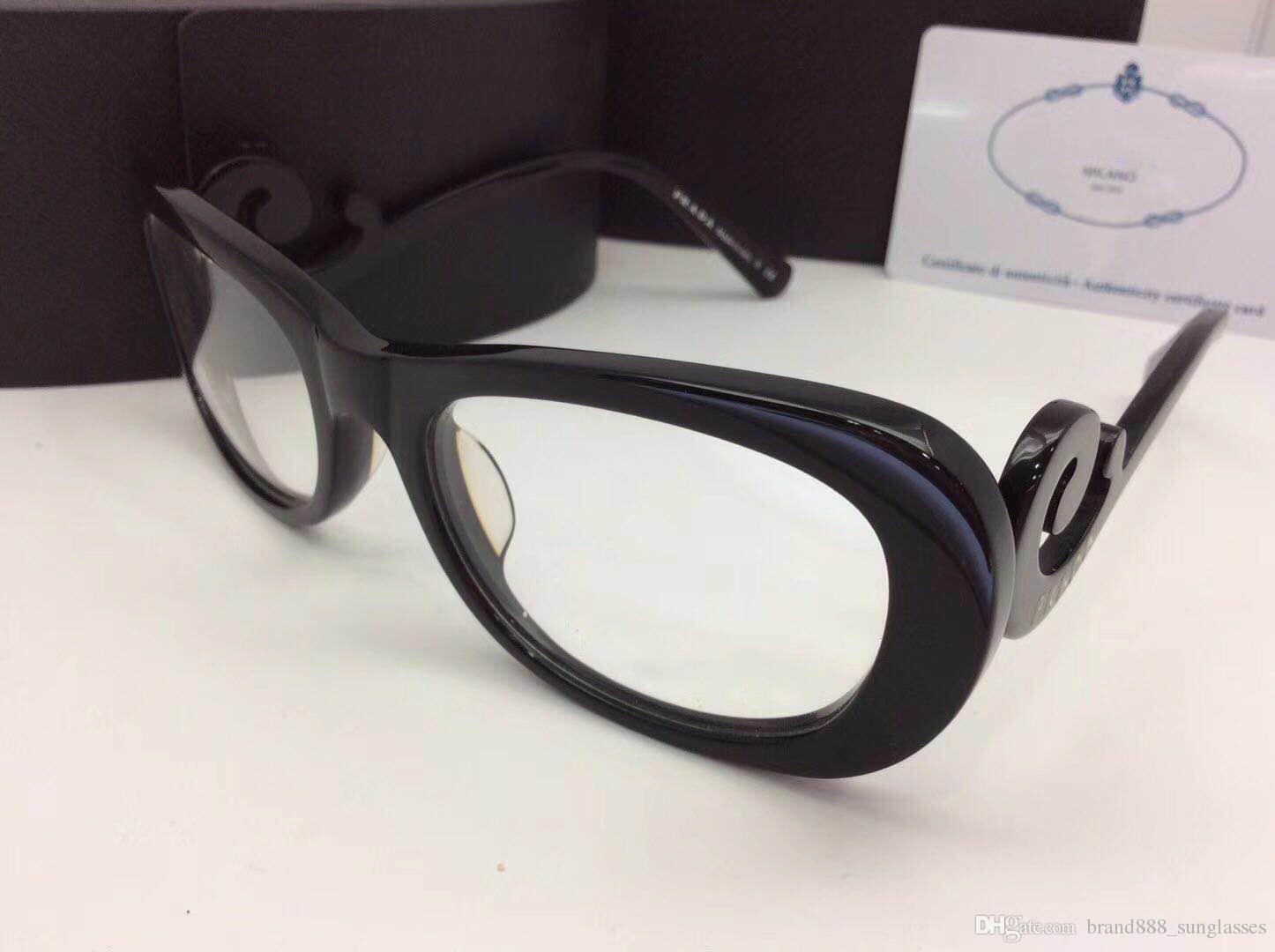 07fb375d1f5 New Fashion Brand Desinger Optical Eyeglasses SPR09P-A Model Black ...
