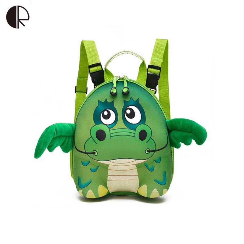 fc6ac9e491ca 2018 Cute Toddler Backpack Children 3D Stereoscopic School Bags Kids  Cartoon Mini Book Bag Kindergarten Animal Zoo Backpacks Messenger Bags For School  Bags ...