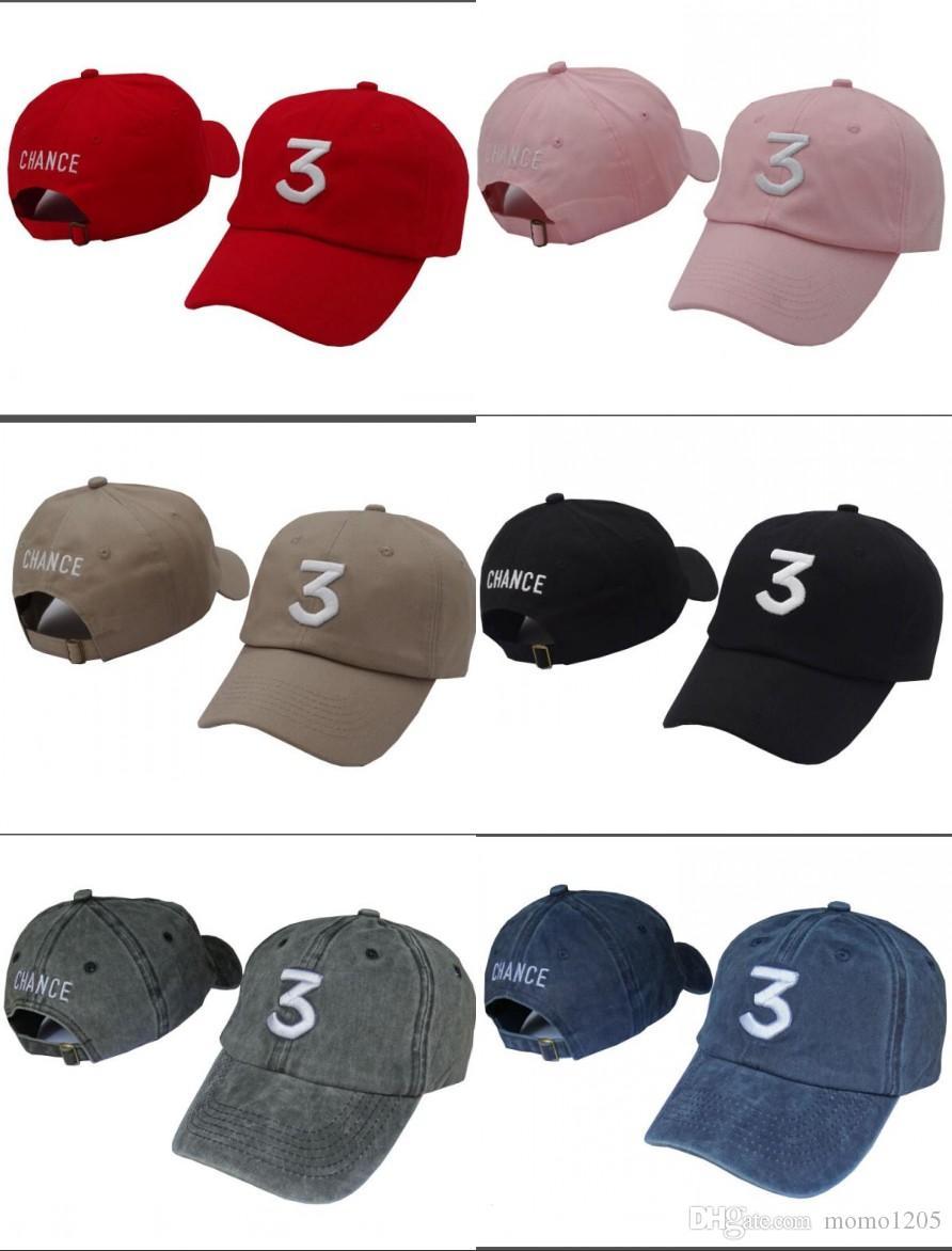 Embroidered Chance The Rapper 3 Hat Black Baseball Cap Fashion Kanye West  Bear Dad Caps Casquette Hip Hop Strapback Sun Drake Ovo Hats Hat Stores  Custom ... 27253b27317c