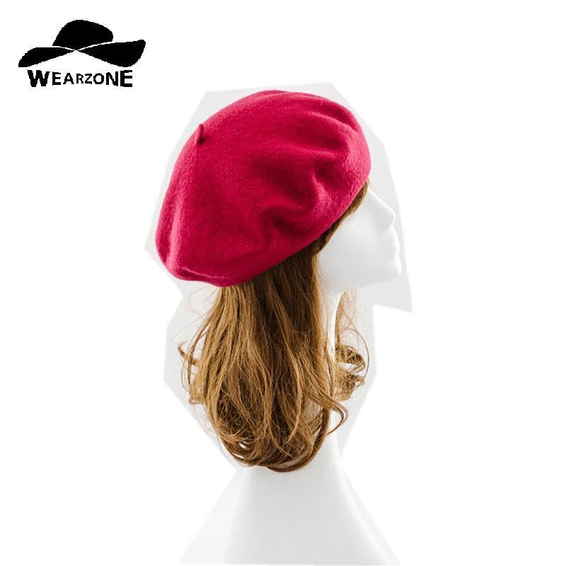 Compre Nuevo Sombrero De Invierno Para Mujer Boinas De Lana es Gorros  Gorras Planas Hombre Sombreros Boina Boinas Mujer Lana Beanie A  27.6 Del  Zhijin ... 2b1e9e54869