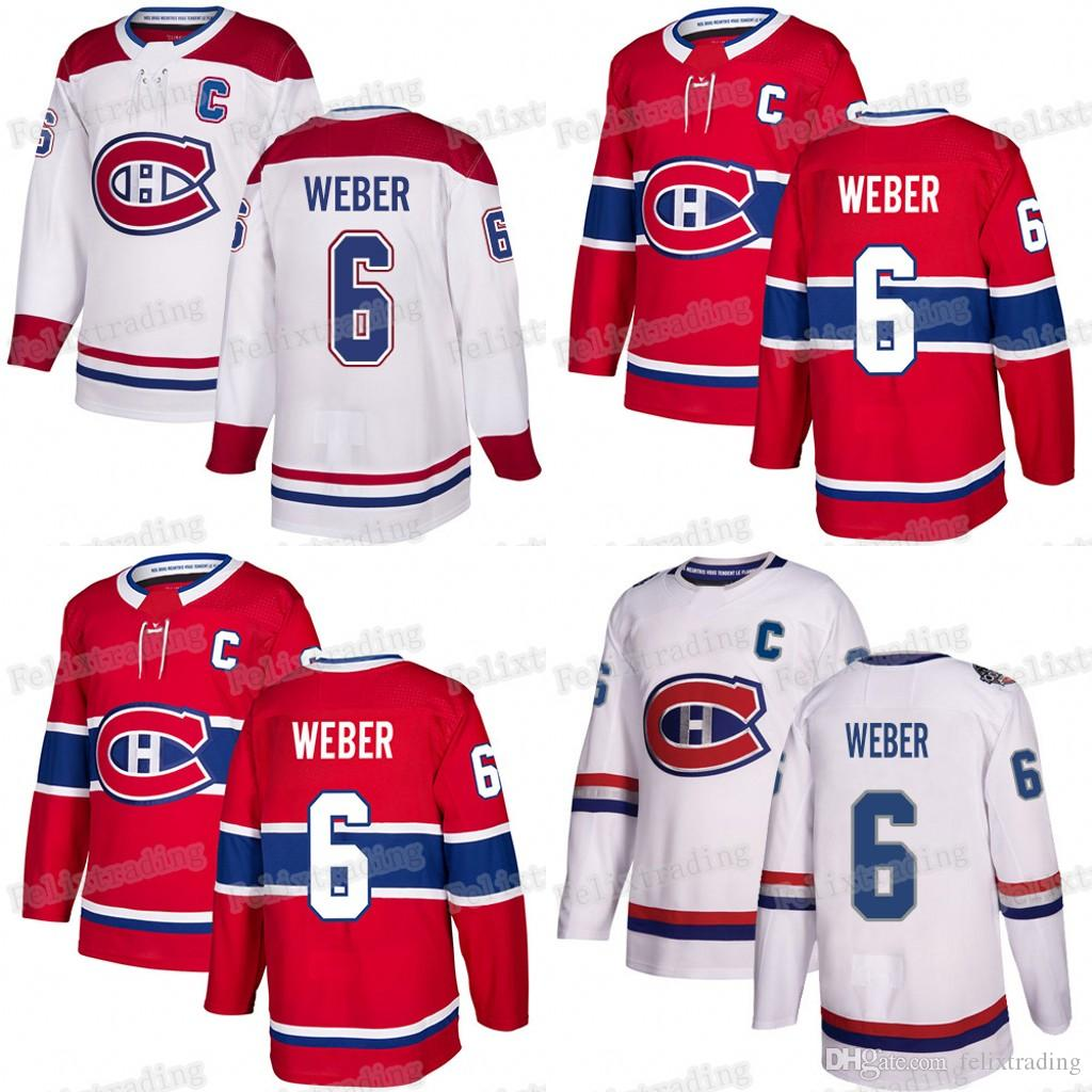 6 Shea Weber With Captain C Patch 2019 Montreal Canadiens Max Domi Carey  Price Tomas Tatar Gallagher Tomas Plekanec Jonathan Drouin Jerseys UK 2019  From ... 55a034188b7