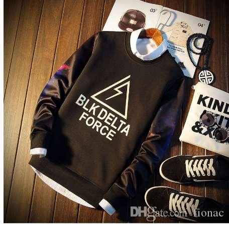 Brave 2019 Mens Hoodies Sweatshirts Fashion Skateboard Streetwear Sweatshirt Polerones For Men Women Hoodies Men's Clothing