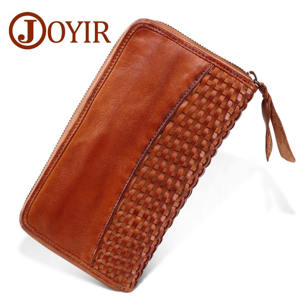 e718be5c6b JOYIR Business Mens Brand Clutch Bags Luxury Cowhide Men Clutch Bag ...
