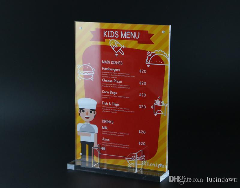 Großhandel A4 Bilderrahmen Stand Pop Shop Label Preisschild ...