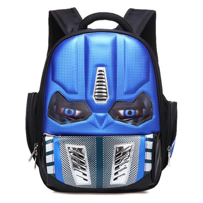 d679c2218acb 2018 New Waterproof 3D Cartoon Robot School Bags For Boys Cool Children  Backpacks Kids Schoolbag Mochilas Escolar Infantil Xvbn5 Cool Bags Backpacks  For ...