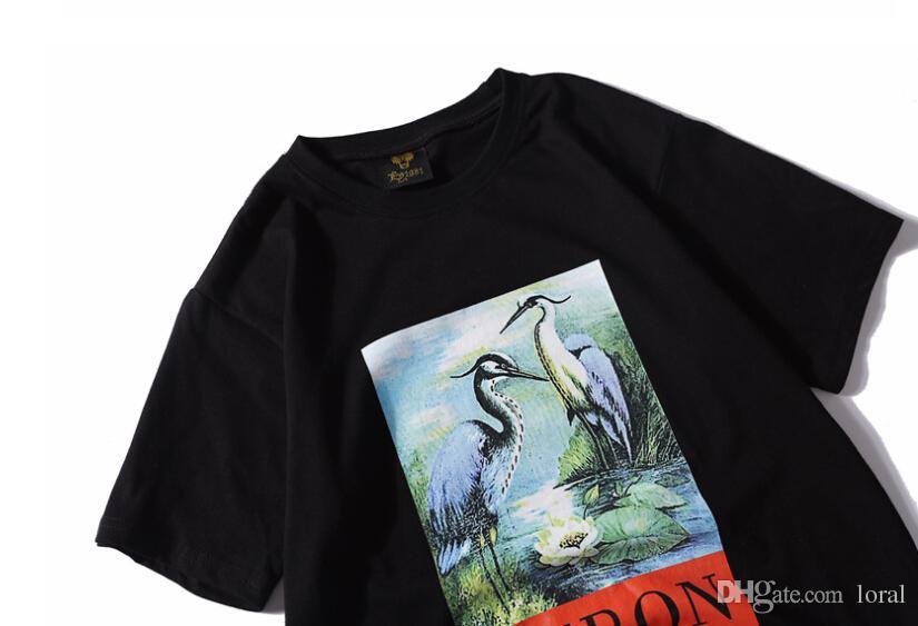 Hombres Ropa de mujer Camisetas casuales Summer Heron Preston Impreso Color sólido Camisetas con cuello redondo Hombre Mujer de manga corta Tops Envío gratis