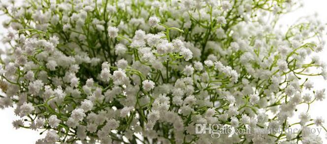 2018 HOT Gypsophila silk baby breath Artificial Fake Silk Flowers Plant Home Wedding Party Home Decoration