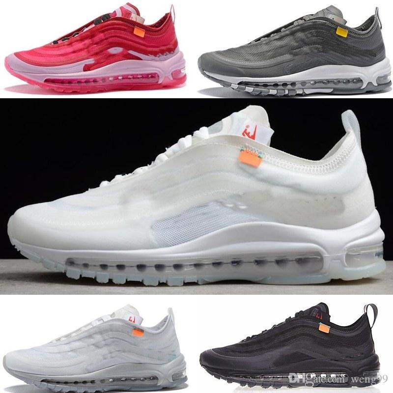 sale retailer 107ca 55f19 Acquista 2018 New 97 White 97s Sneakers Running Uomo E Donna 270 Off Shoes  White X Sneaker Trainer Design Sportivo 36 45 A  50.77 Dal Weng99    Dhgate.Com