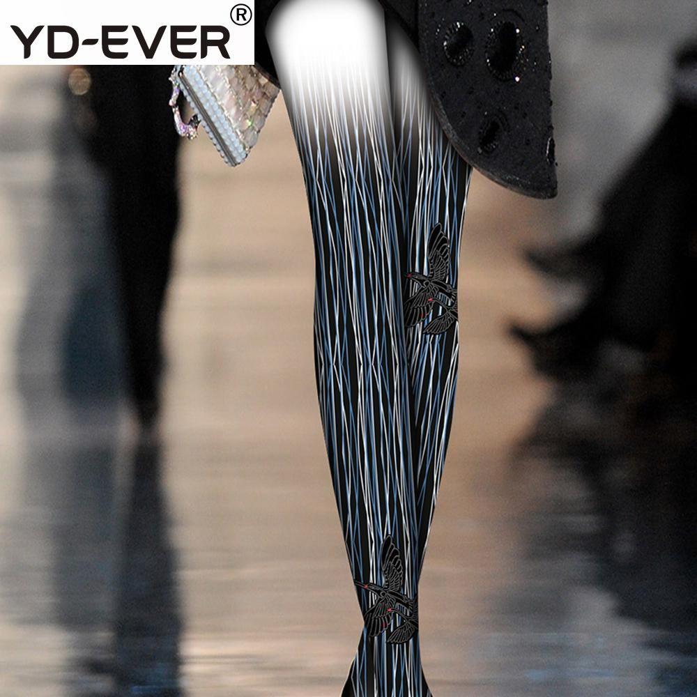 8b3b6e9469c82 2019 Women Tights Original Design Vertical Black Swan Stripe Pattern Net  Red False Thigh Female Tide College Wind Romper Pantyhose From Lvyou09, ...