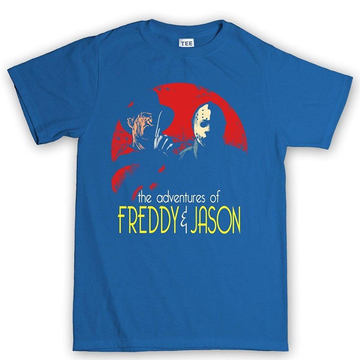 top tee cp mens adventures of freddie jason halloween horror t shirt