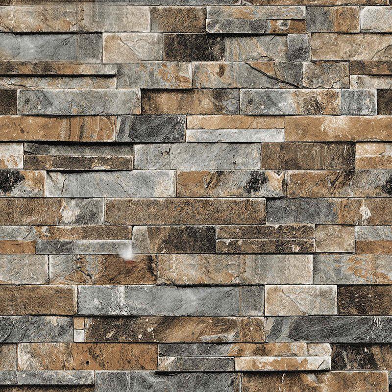 3d Stereoskopische Faux Steinmauer Tapete