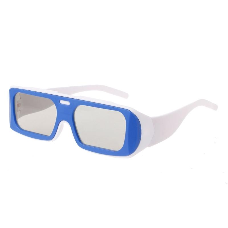 a2f92409a1 Dual Color Frame Circular Polarized Passive 3D Stereo Glasses For Real D 3D  TV Cinema 3d Glasses Free 3d Glasses Polarized From Hakuu