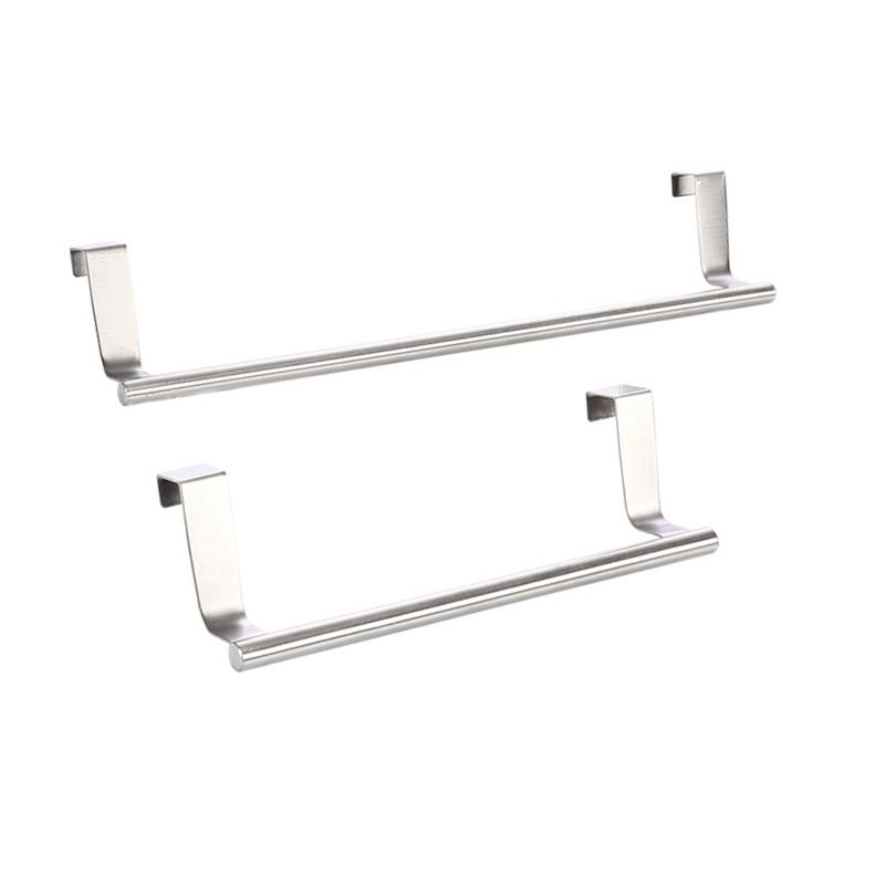 Superieur 2019 Stainless Steel Towel Bar Holder Kitchen Cabinet Cupboard Door Hanging  Rack Storage Hook Accessories J2Y From Yucheng_666, $8.16 | DHgate.Com