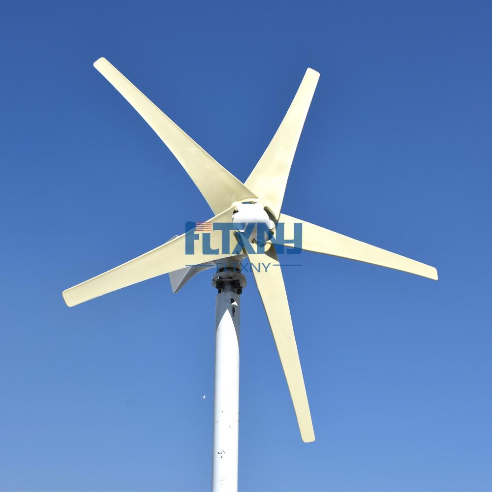 HOT selling! 400W 12V/24V wind turbine with 3 or 5 blade horizontal axis,  factory direct!