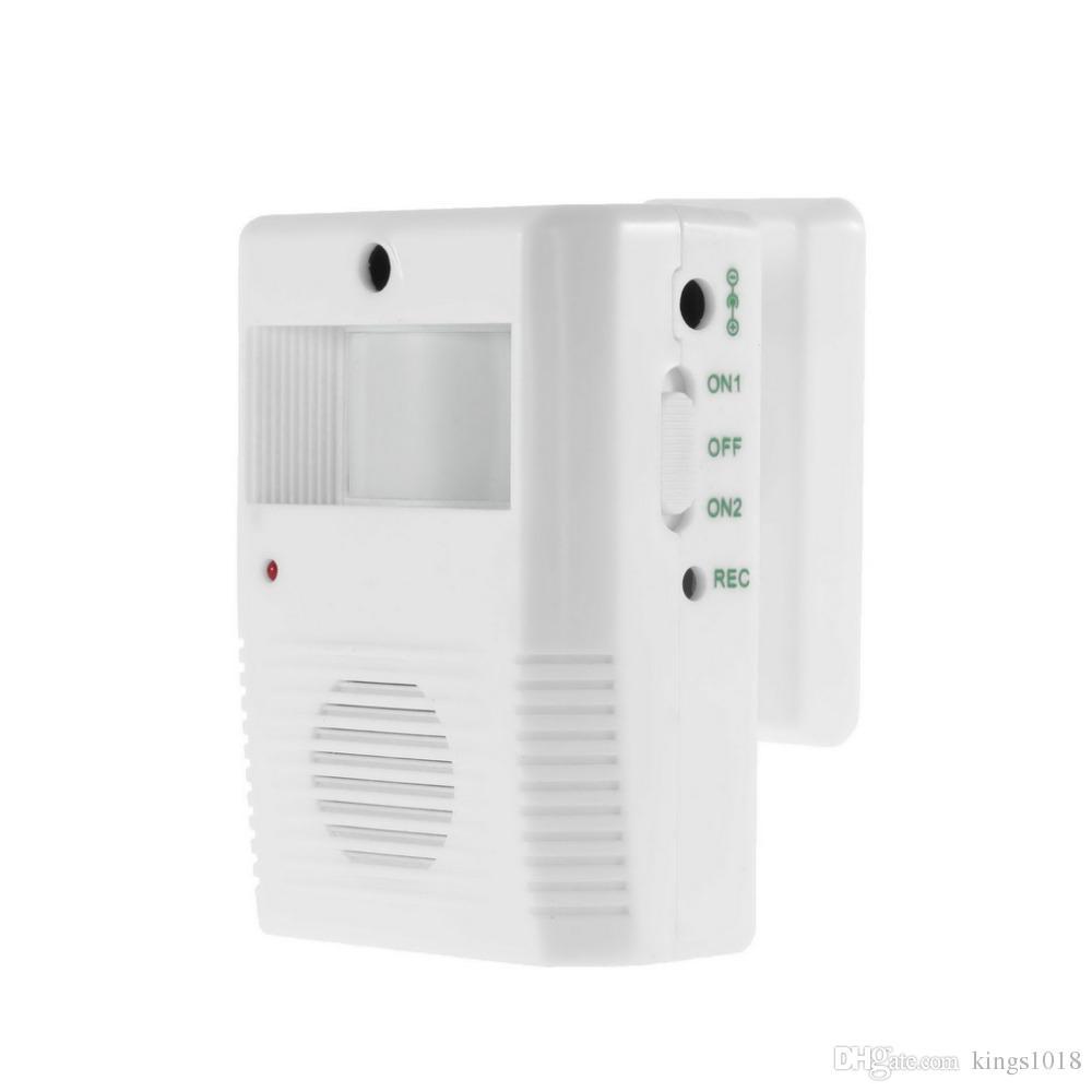 Wireless Entry Music Door Bell Chime Motion Sensor Alarm Electronic Sensor  Detector Home House Welcome Chime Speak
