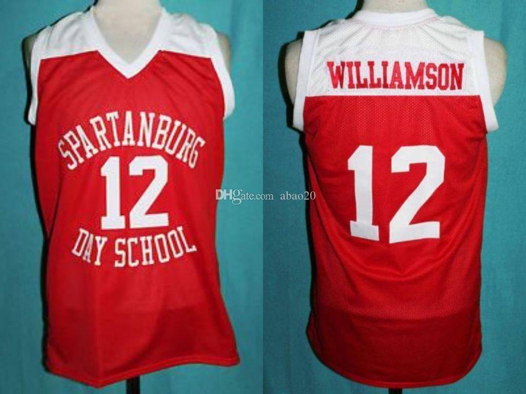 2019 Zion Williamson Spartanburg Griffins Day High School Classics  Basketball Jersey Mens Embroidery Stitched Custom Any Number And Name  Jerseys From Abao20 ... 09e8ba41a