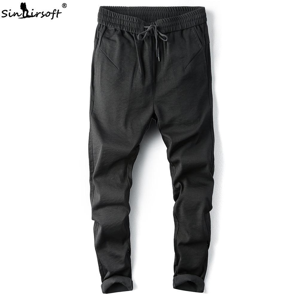 Acquista Pantaloni Casual Pantaloni Larghi Con Cavallo Basso Pantaloni In  Cotone Active Pantaloni Sportivi Harem Hip Hop Slim Da Jogging Pantaloni  Sportivi ... 3a8c216f5d1b