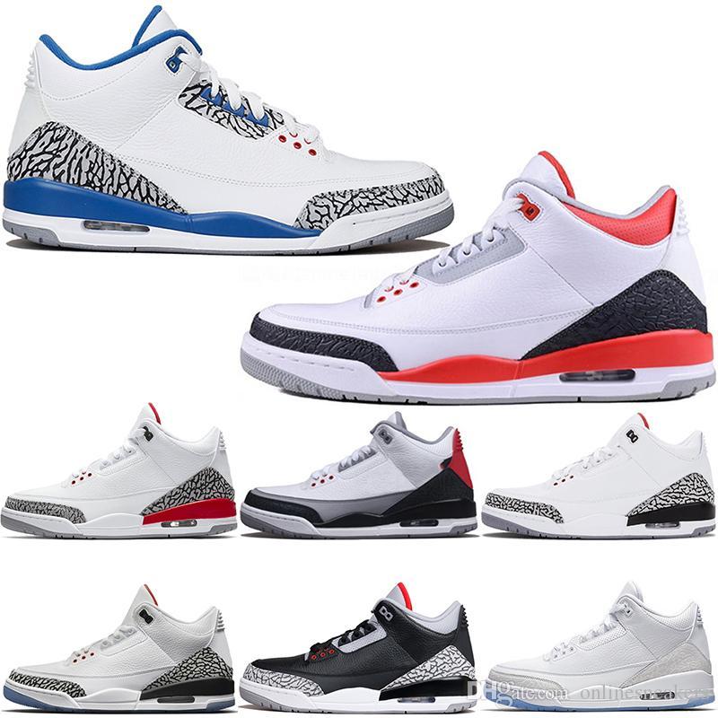 a47c62e4515448 Großhandel Nike Air Jordan 3 3s Retro Basketball Schuhe Männer ...
