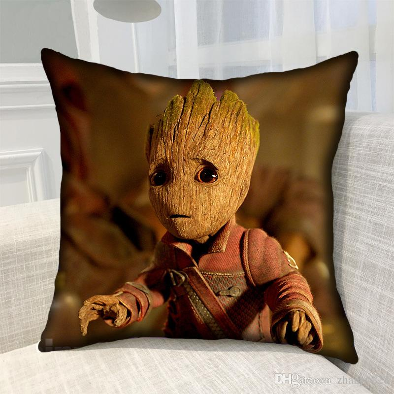 DHL Tree Man Pillow Case + Pillow cushion Cartoon Pillow Case Sofa Television Car Seat Home Decoration Office Custom pictures